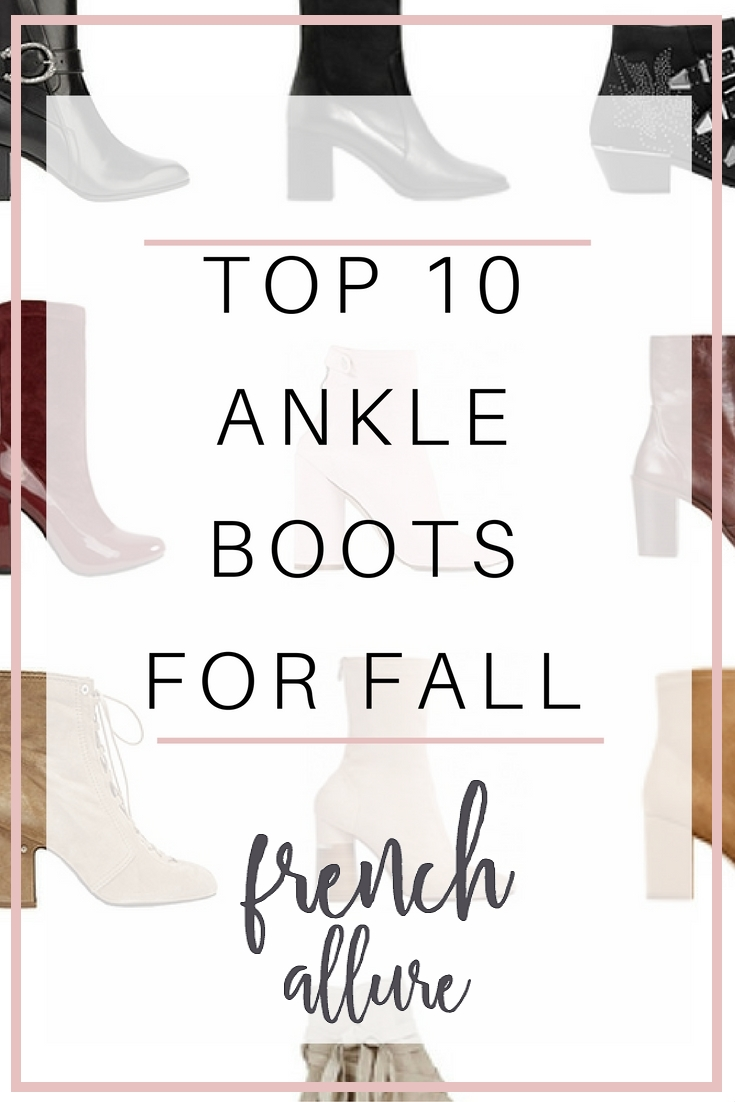 Top 10 best ankle boots for fall